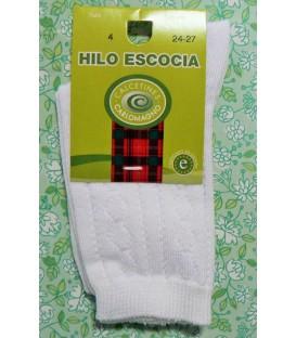 Calcetines Hilo de Escocia Carlomagno labrados