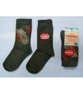 Pack calcetines Carlomagno Adventure 2 pares