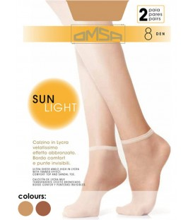 Tobilleros Sun Light Omsa (2 pares)