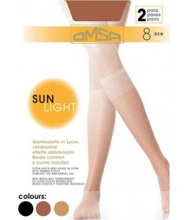 Minimedias Sun Light Omsa (2 pares)