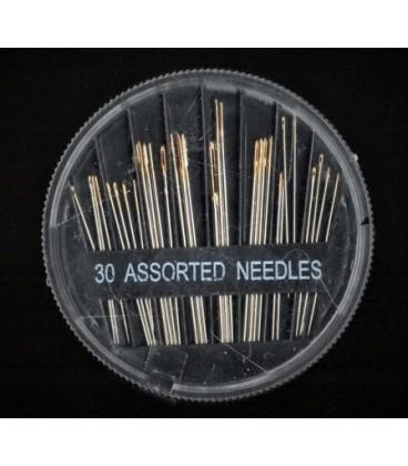 Kit 30 agujas surtidas para coser