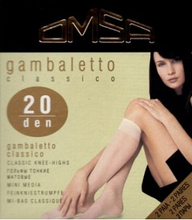 Gambaletto 20 Classico OMSA (2 pares)