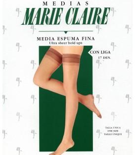 Media espuma fina con liga Marie Claire