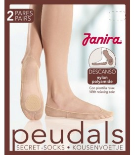 Peudals Nylon Descanso (2 pares)