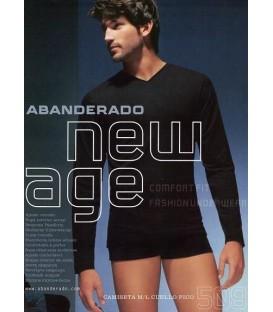 Camiseta Abanderado New Age Manga Larga