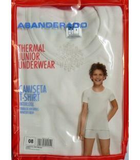 Camiseta Abanderado Junior manga corta, Fibra de Invierno