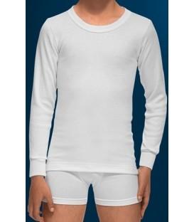 Camiseta Abanderado Junior, Manga larga fibra de invierno