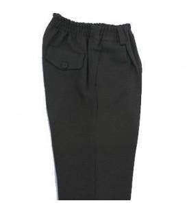Pantalón Colegial Cinturilla de Goma poliéster