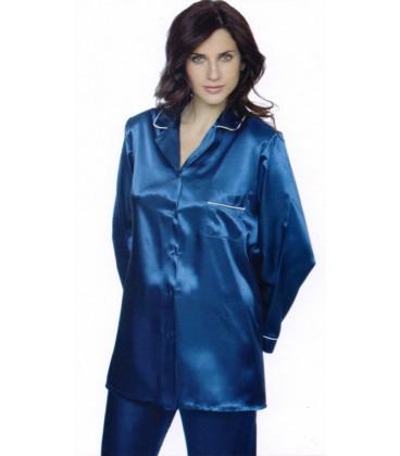 Pijama en punto de seda Findel