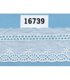Tira bordada Bordados Unidos 16739
