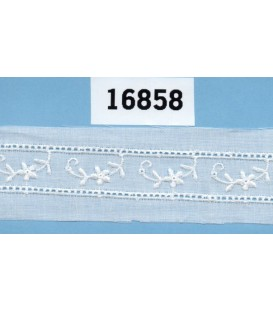Tira bordada Bordados Unidos 16858
