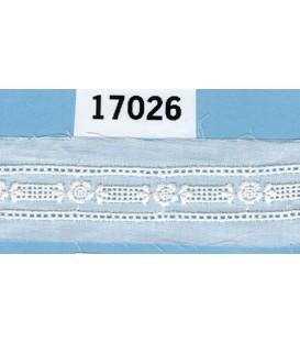 Tira bordada Bordados Unidos 17026